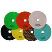 Diamond flexible grinding wheel with cooling Ø100 №50, 100, 200, 400, 800, 3000
