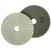 Diamond flexible grinding wheel with cooling Ø100 №50, 100, 200, 400, 800, 1500, 3000