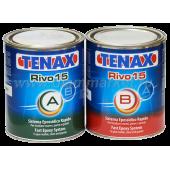 Epoxy glue 2-component RIVO-15 (straw)