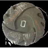 Mill diamond grinding Polisher Ø100 granite, marble Velcro №0